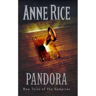[eBook] Pandora - Anne Rice