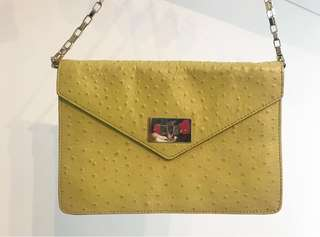 SALE💛Kate Spade Envelop Bag (90%+ new) 💛👜( size 30cm x 21cm)