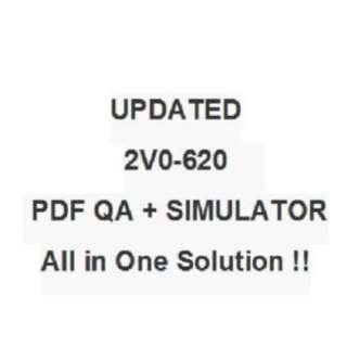 Vmware vSphere 6 Foundations VCP6-DCV Exam 2V0-620 Test QA PDF&Simulator