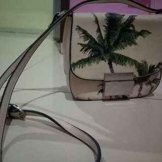 Tas Zara Palm tree bag Original