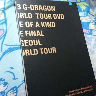 2013 G-DRAGON WORLD TOUR DVD