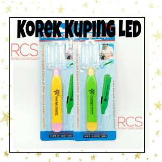 Korek kuping led