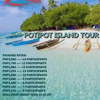 Potipot Island Tour 2D1N
