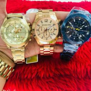 MK watches for men