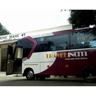 Rental mobil Medium Bus (27 - 32 seat) di Jakarta, murah dan berkualitas.