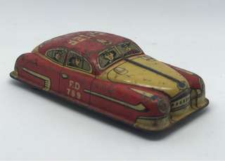 Vintage Tin Toy Car for sale