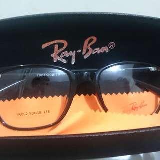 Frame Kacamata Hitam Glossy Rayban