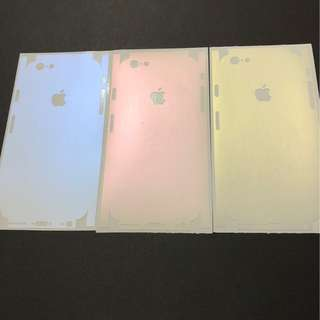 IPhone Series discolour Back full coverage protector
