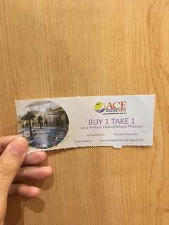Ace Water Spa Voucher