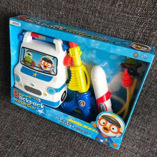 BN Authentic Pororo Backpack Water Gun