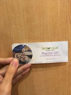 Browhouse Voucher