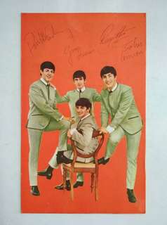 Vintage Beatles Postcard for sale