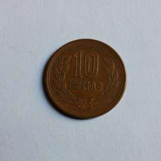昭和三十九年錢幣