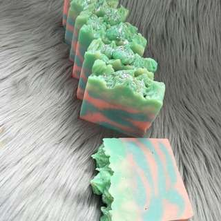 Milky nude soap