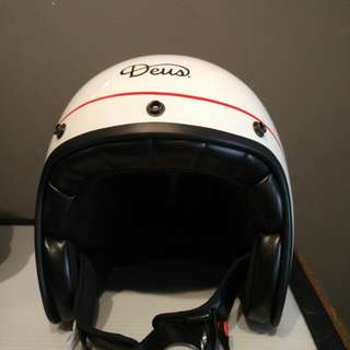 Deus ex machina original helmet Carbon fiber Size XL