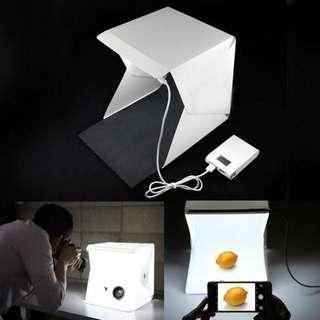 Studio box lamp
