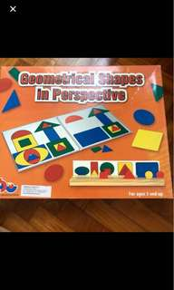 Geometrical Shapes in Perspectives