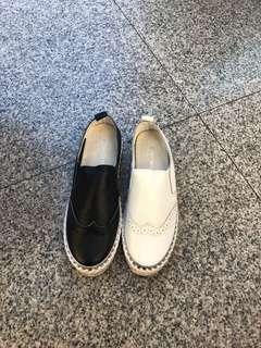 🚚 最新女款韓國真皮包鞋 ♥️♥️質感好❤️❤️大推 2色36.37.38.39.40 🎈🎈限量特價$1499/😊😊