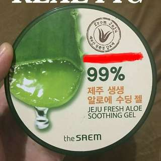 Aloe Soothing Gel 99% The Saem From Jeju Ori Korea Brand