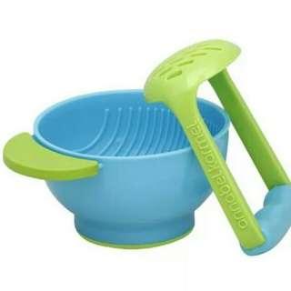 <Free Post> NUK mash & serve bowl