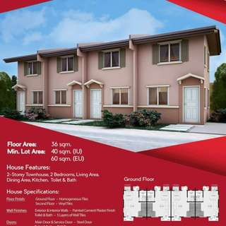 HOUSE and LOT for SALE in Sta. Maria Bulacan Camella L-series for as low as P260/day!