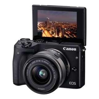 Cash/Cicilan Kamera Canon EOS M3