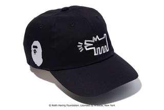 BAPE X KEITH HARING CAP