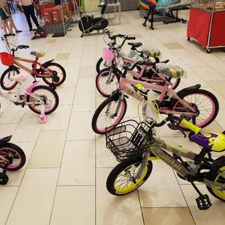 Kids Bicycle - Various Sizes
