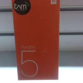 Xiaomi Redmi 5 (3/32) Bisa Dicicil Tanpa CC