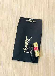 BN YSL Rouge Volupté Mini Shine Oil-in-Stick #49 and Lip Perfector (Sample Size)