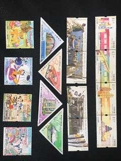 香港郵票4套合共出售