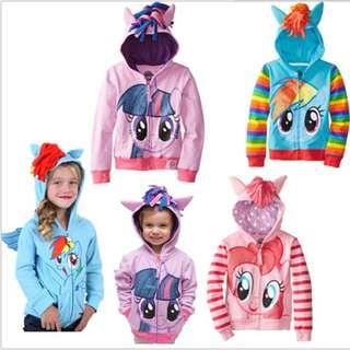 My little pony hoodie jacket(preorder)