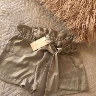 Silk Dress Shorts