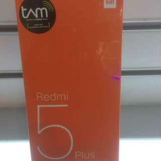 Xiaomi Redmi 5+ (bisa dicicil)
