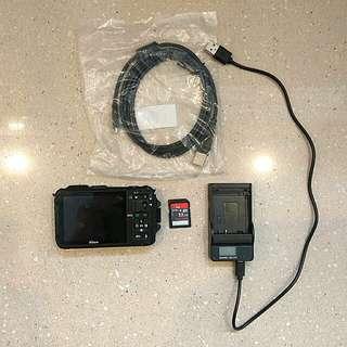 Nikon Coolpix AW100 16 MP Waterproof (33 feet) Digital Camera