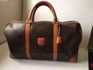 Authentic Celine Vintage Travel Luggage Bag