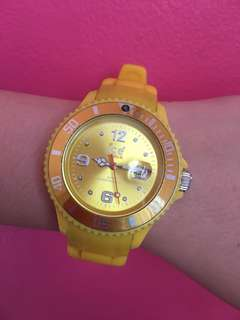 Ice Watch Yellow Silicon