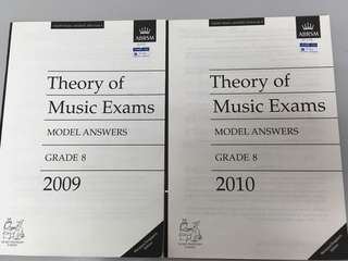 ABRSM Grade 8 theory model answer