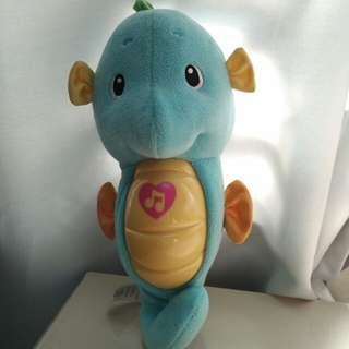 Genuine Fisher Price Sooth & Glow Seahorse