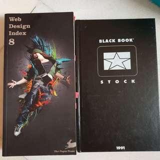 Web Design Index & Black Book Stock