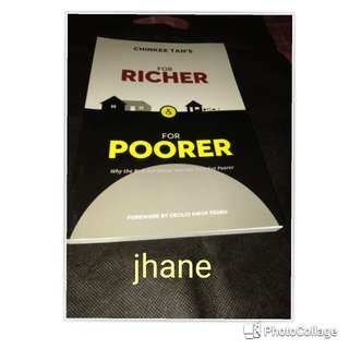 For Richer & For Poorer by Chinkee Tan