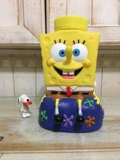 🚚 海綿寶寶造型水壺