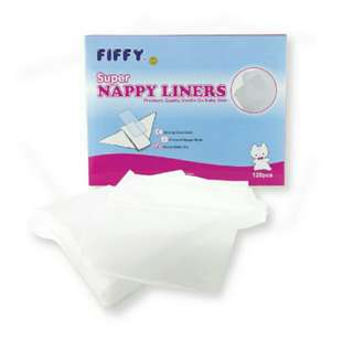 Fiffy nappy liners 120pcs