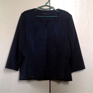 Blazer Navy Blue (silk)