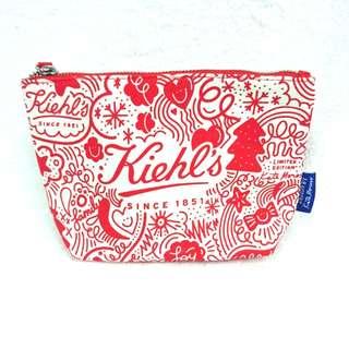 Kiehl's by Kate Moross限量版化妝袋