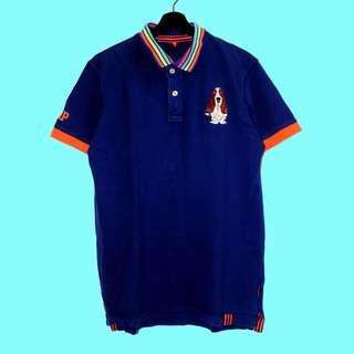 Hush Puppies blue polo shirt Size L
