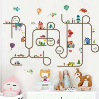 Clearance sale! Assorted wall stickers at $9.90 each!