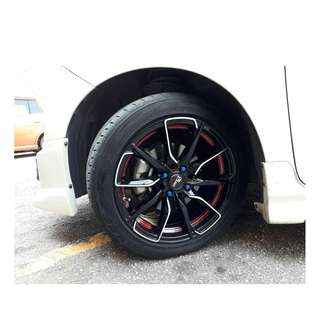 17 inch SPORT RIM RAYS CLUB06 RACING WHEELSS OFFER