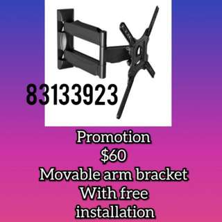 Tv bracket ( swing arm)