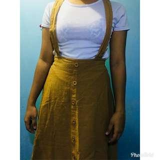 Skirt jumper with inner
